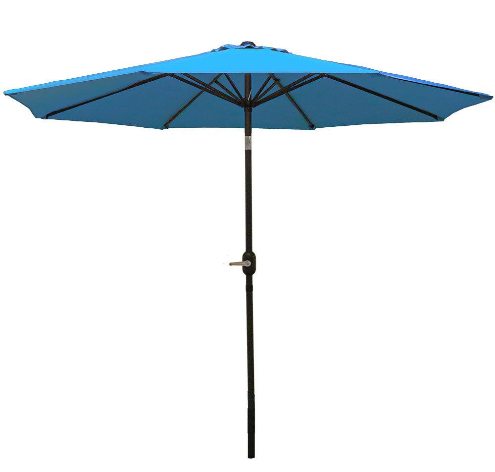Winchester Zipcode Design Market Umbrellas With 2020 Delaplaine 9' Market Umbrella (View 20 of 20)