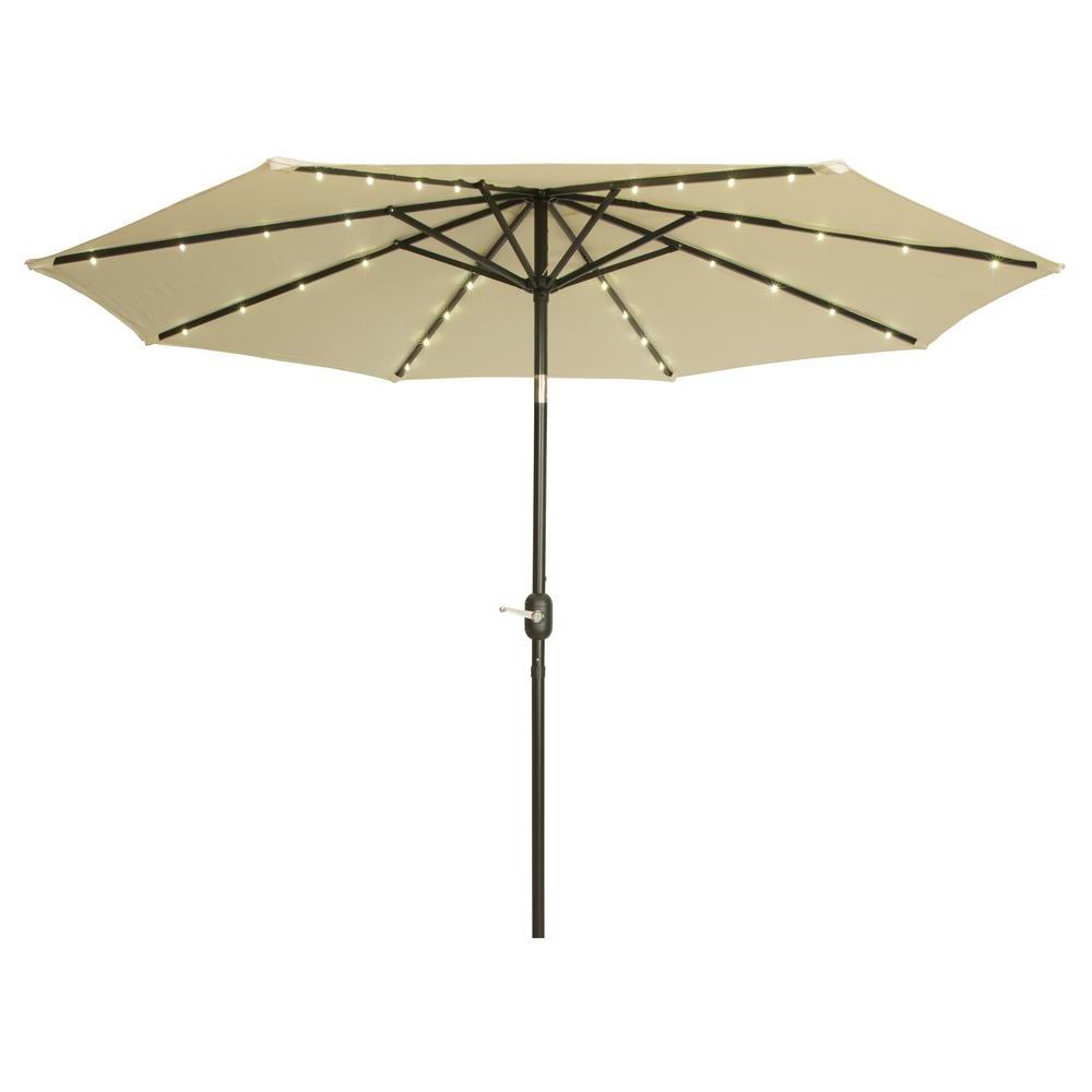 Woll Lighted Market Umbrellas Regarding 2020 Trademark Innovations 9 Ft (View 13 of 20)