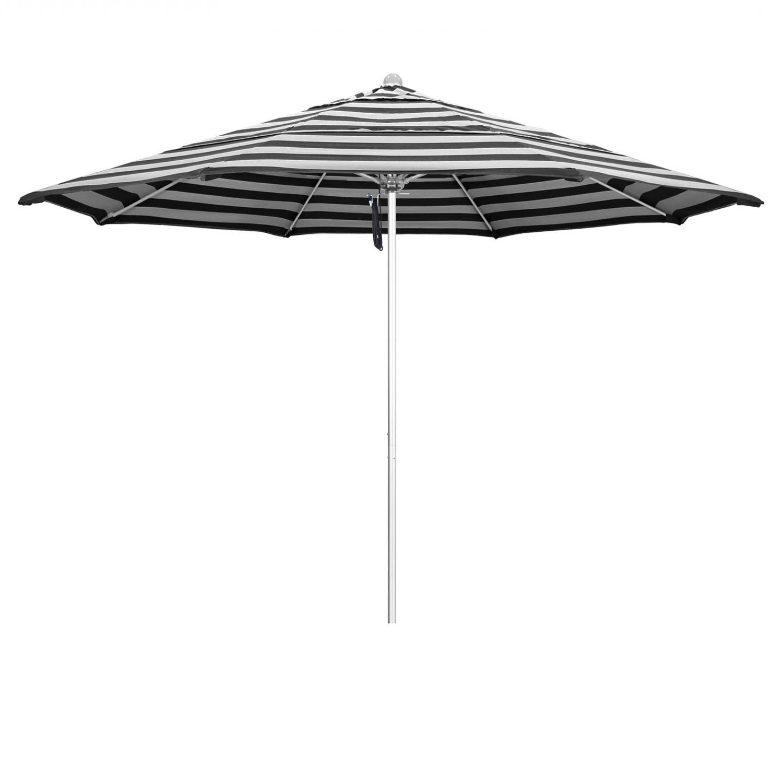 Woll Lighted Market Umbrellas Regarding Most Recently Released California Umbrella Venture Series 11 Ft Octagonal Aluminum Patio (View 14 of 20)