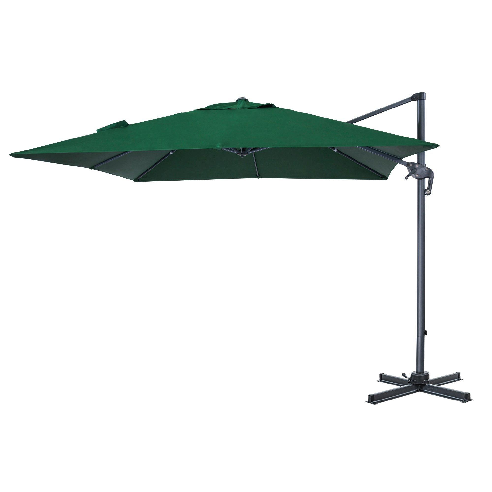 Yajaira Cantilever Umbrellas In Preferred Elmhur Patio Offset 10' Cantilever Umbrella (View 18 of 20)