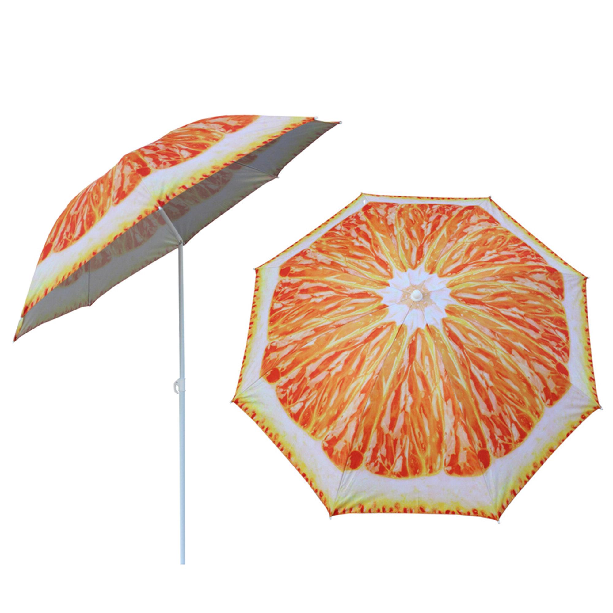 "Zuniga 5'2"" Beach Umbrella In Well Known Capra Beach Umbrellas (View 20 of 20)"