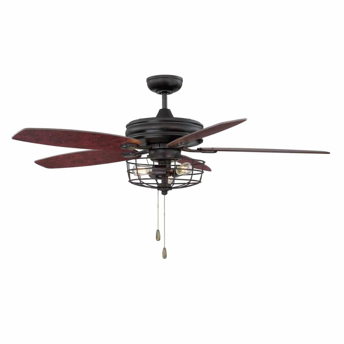 10 Affordable Modern Farmhouse Ceiling Fans (View 1 of 20)