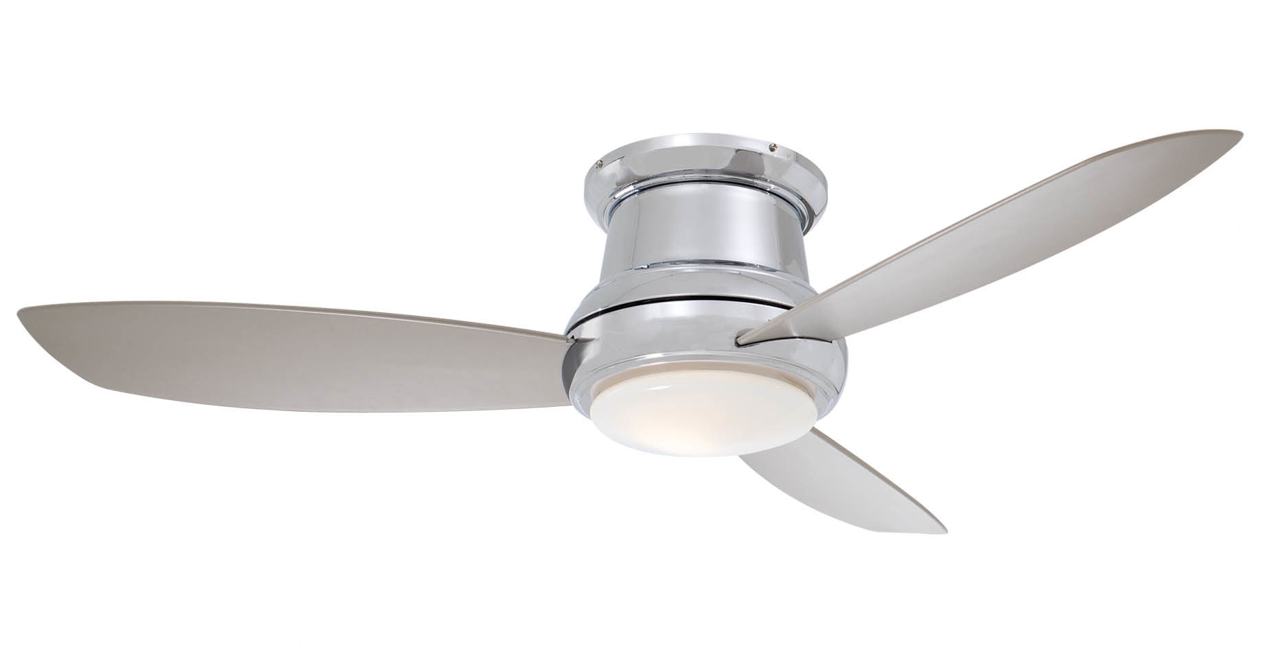 "2019 44"" Concept Ii 3 Blade Led Ceiling Fan With Regard To Cedarton 5 Blade Led Ceiling Fans (View 1 of 20)"