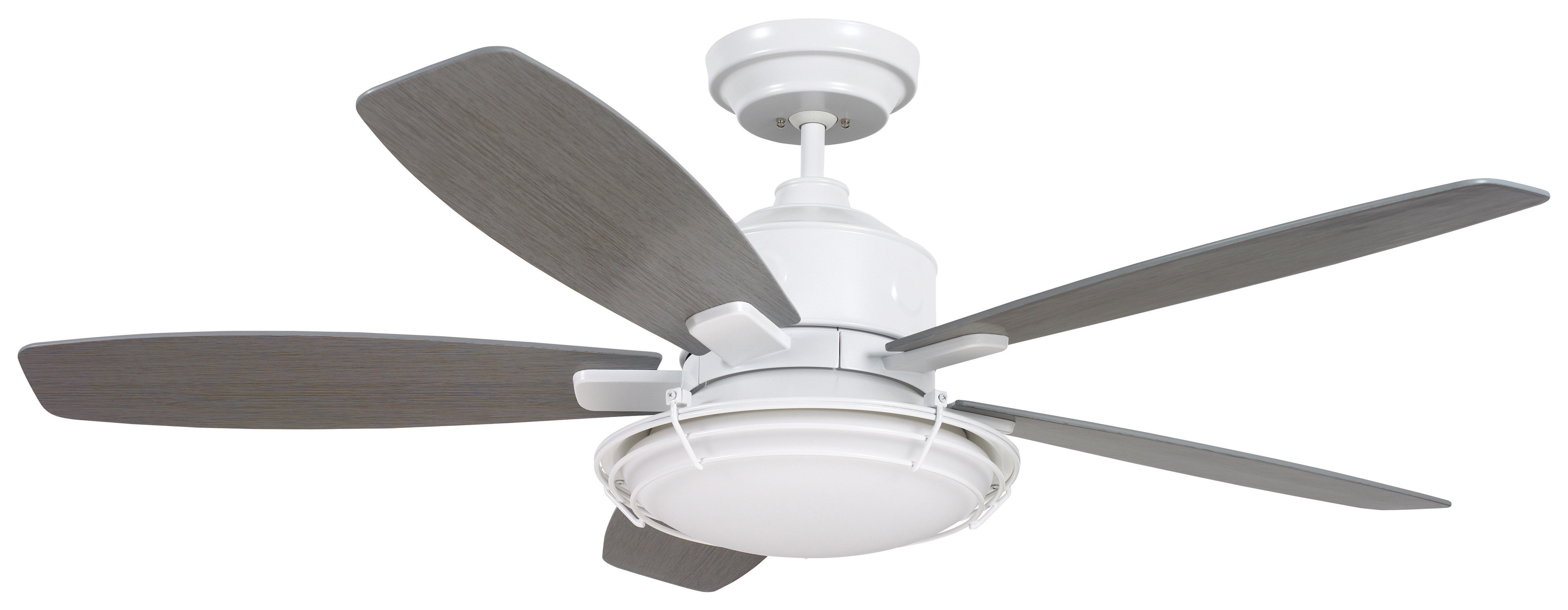 """2019 Acero Retro 3 Blade Led Ceiling Fans Throughout 54"""" Jeanine 5 Blade Outdoor Ceiling Fan (View 1 of 20)"""