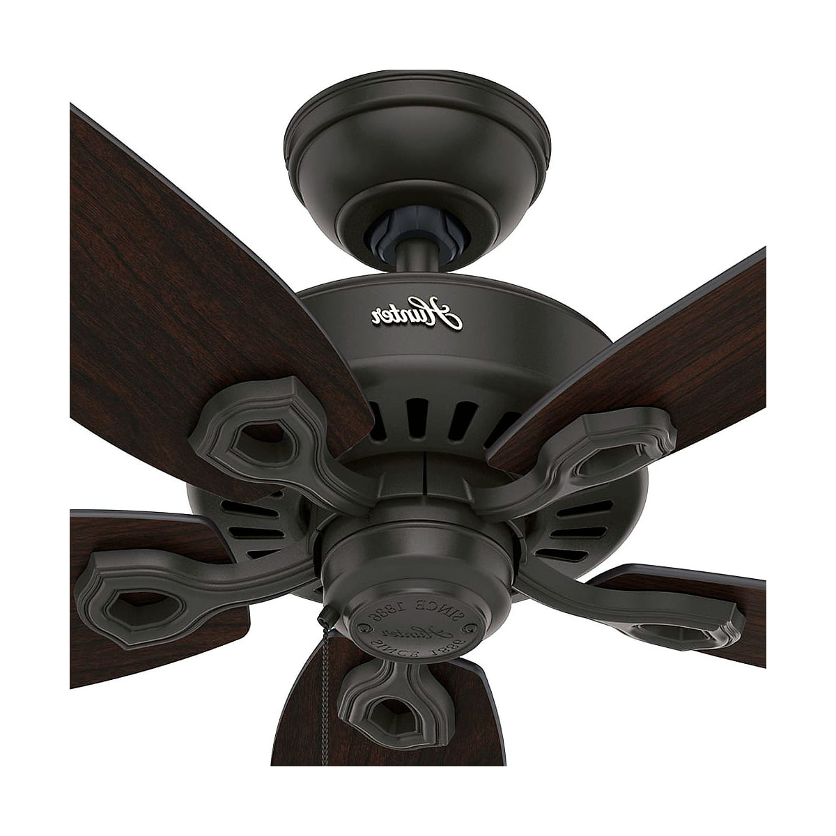 2019 Builder Elite 5 Blade Ceiling Fans Regarding Hunter Builder Elite Damp (View 12 of 20)