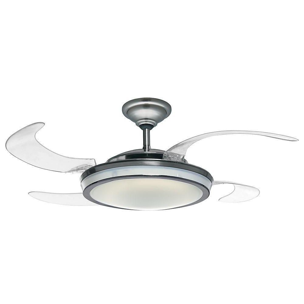2019 Ceiling Fan With Retractable Blades – Best Way To Pick Inside Servantes Retractable 4 Blade Ceiling Fans With Remote (View 1 of 20)