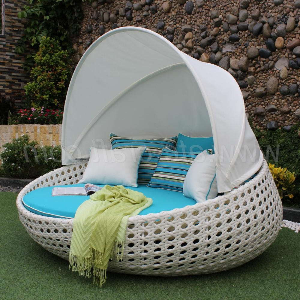 2019 Classic Elegant Synthetic Rattan Sunbed Or Daybed For Outdoor Garden  Patio Beach Resort Pool – Buy Classy Luxury Design,poly Rattan Round With Regard To Most Recently Released Resort Patio Daybeds (View 1 of 20)
