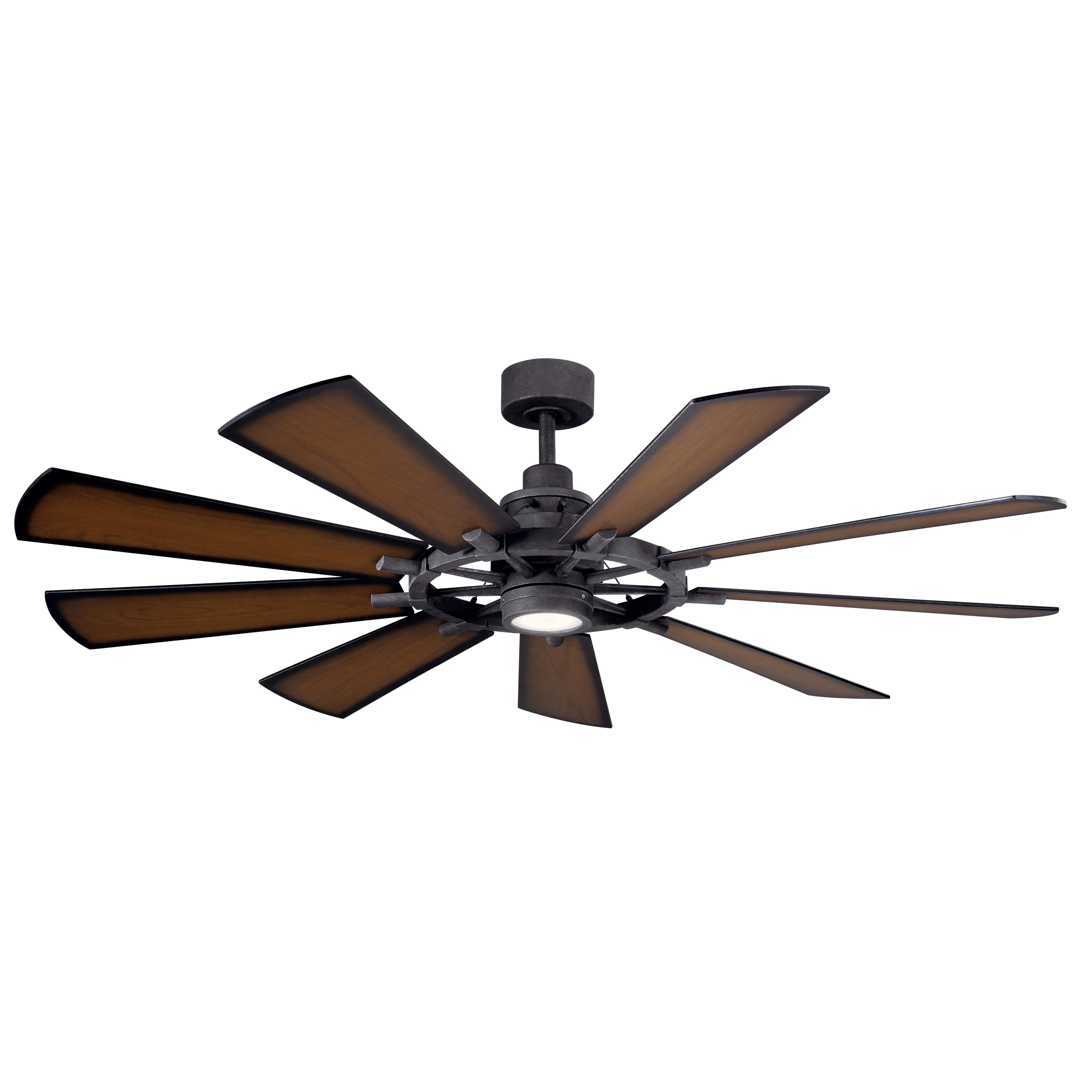 2019 Farmhouse & Rustic 17 Stories Ceiling Fans (View 1 of 20)