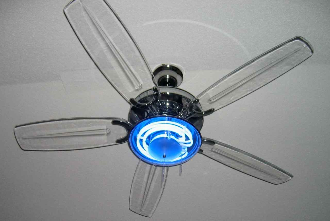 2019 Harbor Breeze Ceiling Fan With Clear Blades (View 1 of 20)
