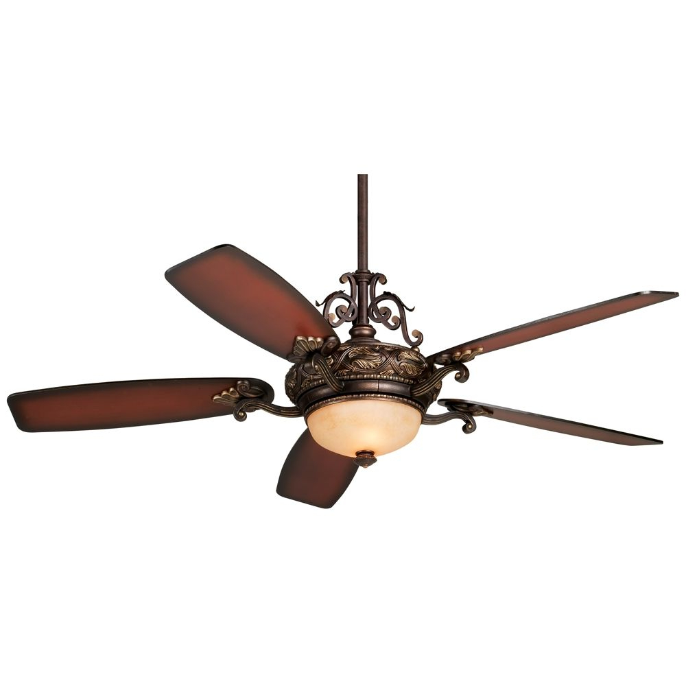 "2019 Napoli 5 Blade Led Ceiling Fans For 56"" Casa Esperanza Teak Finish Blades Led Ceiling Fan (View 5 of 20)"