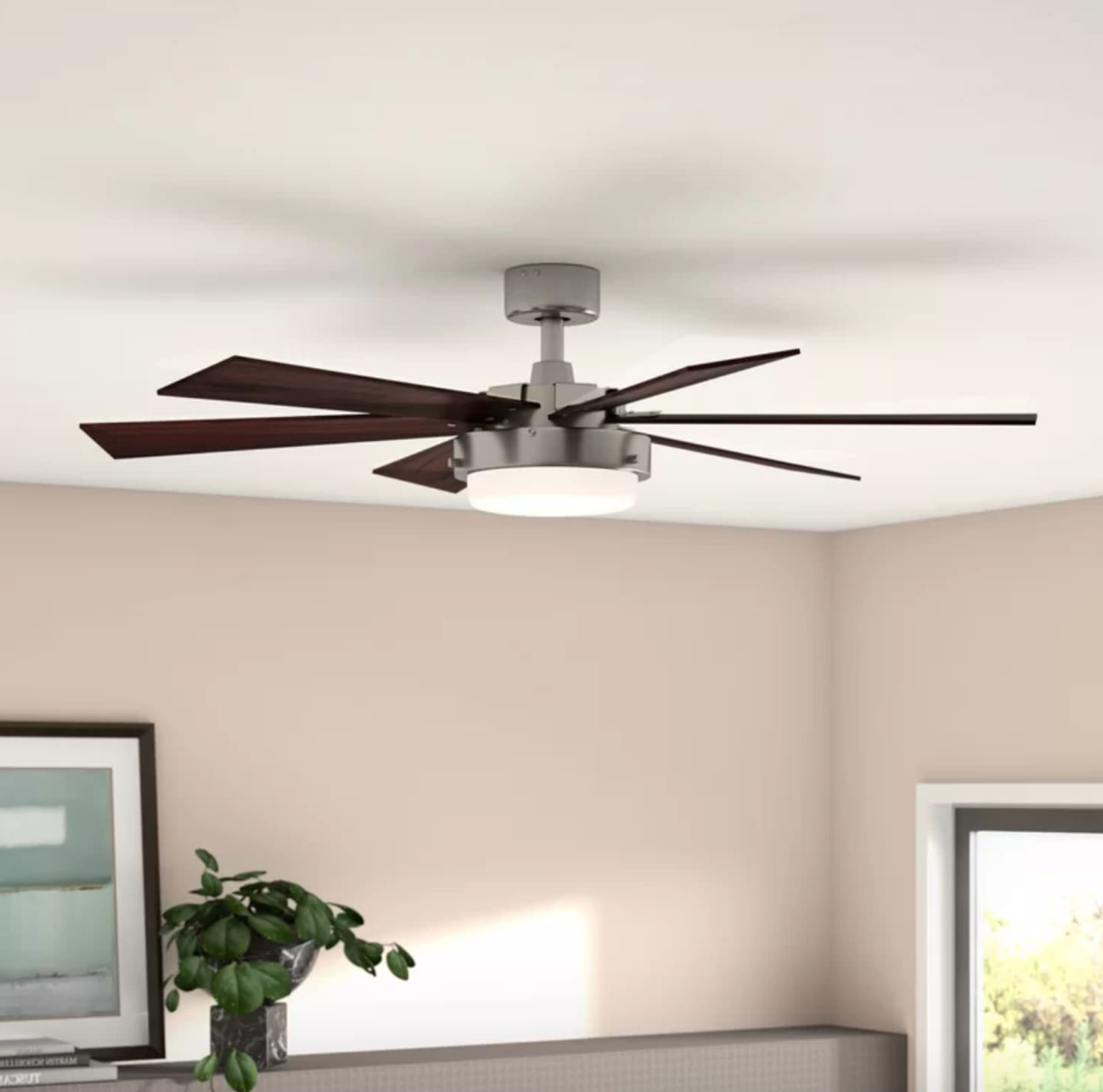 2019 Ravenna 5 Blade Ceiling Fans Within 11 Modern And Attractive Ceiling Fans – For Outdoors (View 18 of 20)