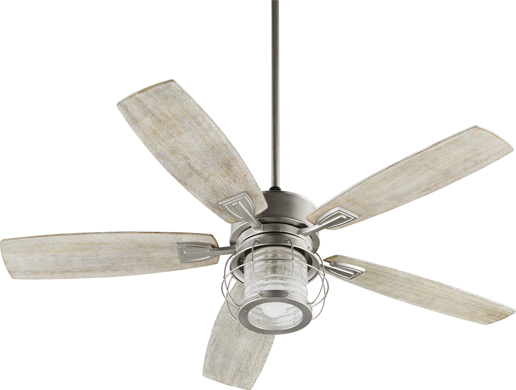 "2020 52"" Glazer 5 Blade Ceiling Fan Intended For Classica 5 Blade Ceiling Fans (View 10 of 20)"