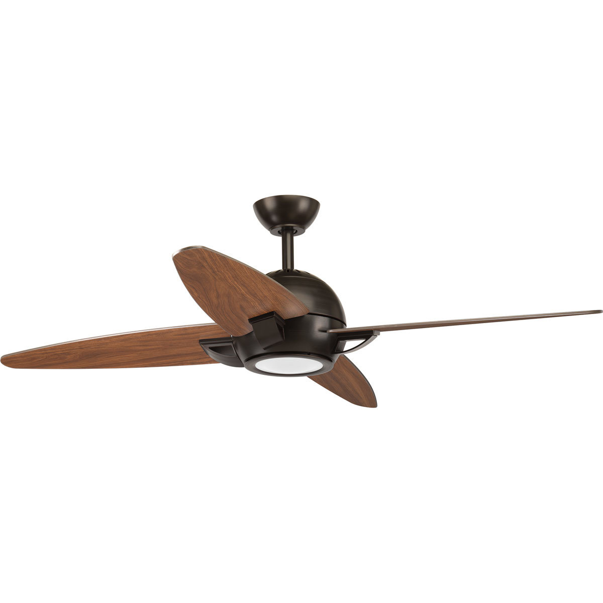 "2020 54"" Dirks 5 Blade Led Ceiling Fan With Remote With Regard To Wilburton 5 Blade Ceiling Fans With Remote (Gallery 7 of 20)"