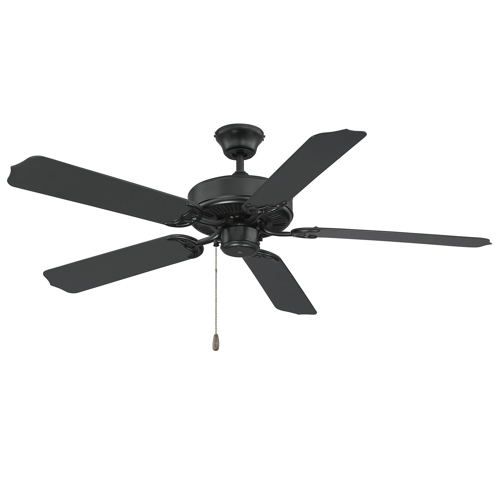 """2020 Blomquist 5 Blade Outdoor Ceiling Fans Pertaining To 52"""" Blomquist 5 Blade Outdoor Ceiling Fan (View 1 of 20)"""