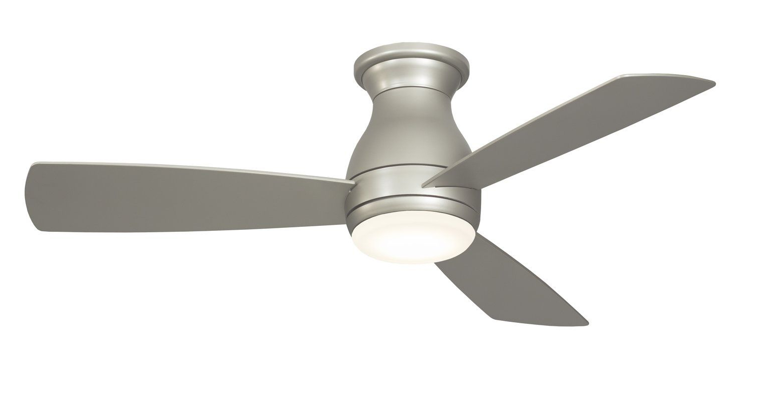 "44"" Hugh 3 Blade Outdoor Led Ceiling Fan (View 2 of 20)"