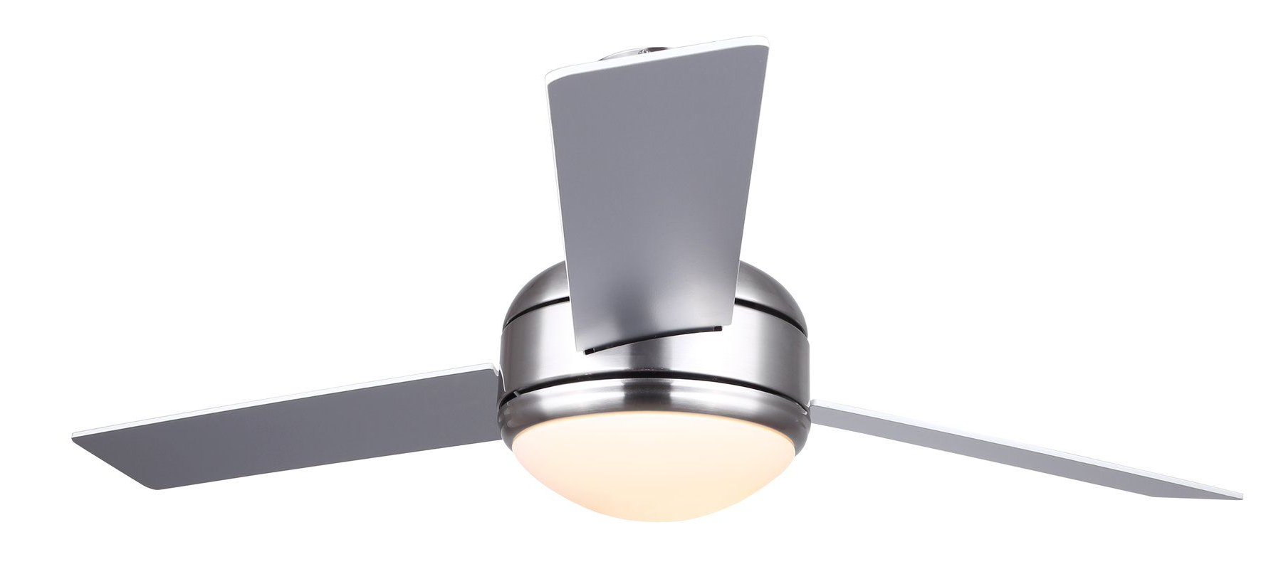 """48"""" Dennis 3 Blade Ceiling Fan With Remote, Light Kit Intended For 2019 Bernabe 3 Blade Ceiling Fans (View 5 of 20)"""