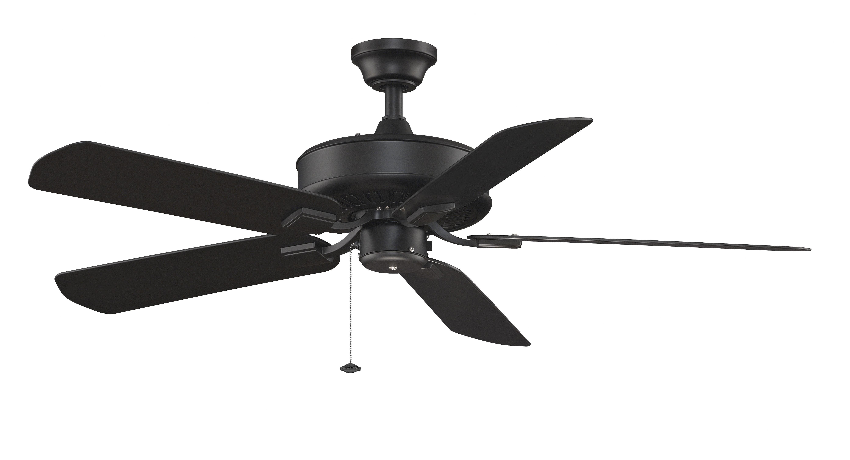 """50"""" Edgewood 5 Blade Outdoor Ceiling Fan Inside Well Known Blomquist 5 Blade Outdoor Ceiling Fans (View 2 of 20)"""