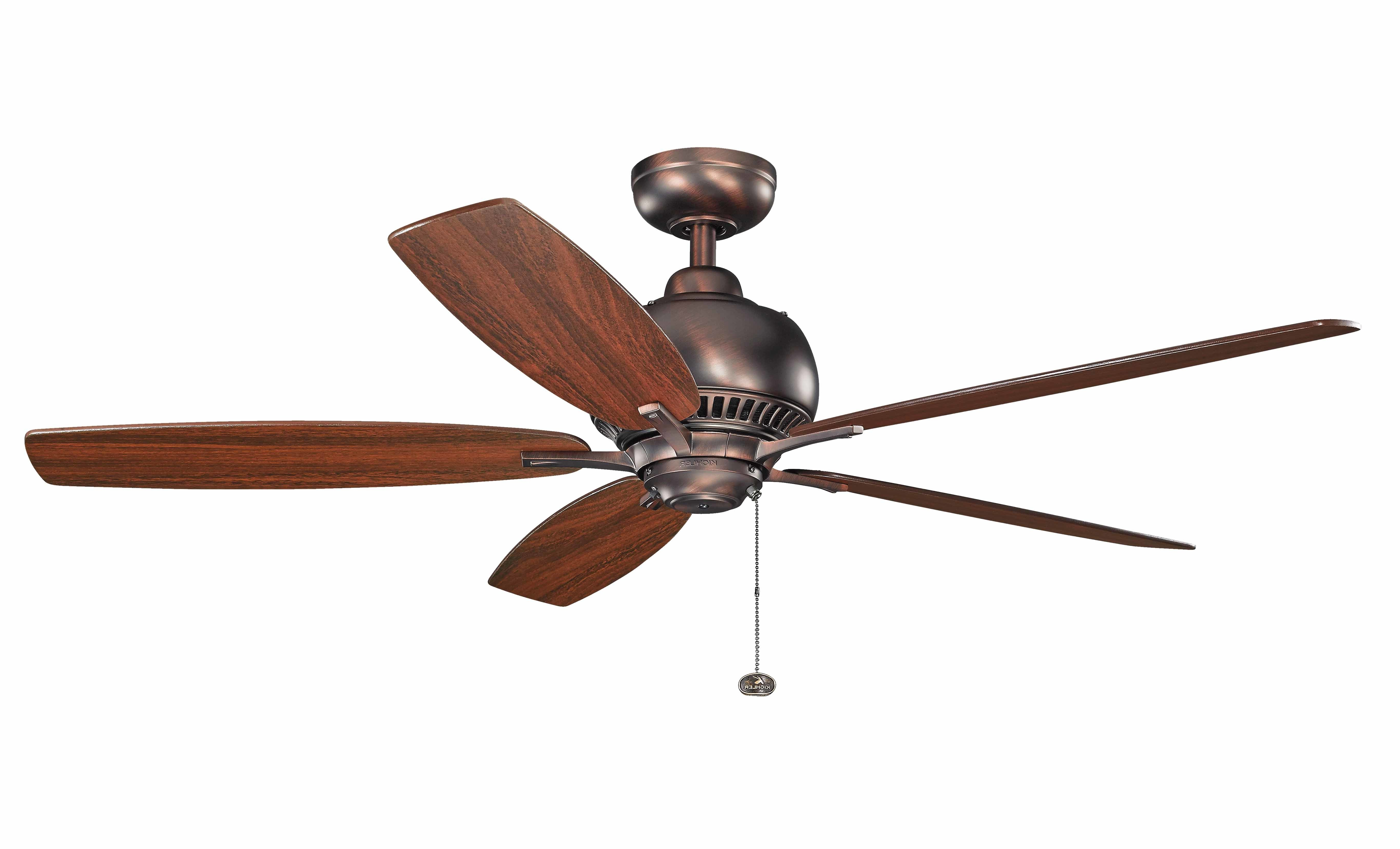 """52"""" Aldgate 5 Blade Ceiling Fan With Most Popular Cerro 5 Blade Ceiling Fans (View 3 of 20)"""