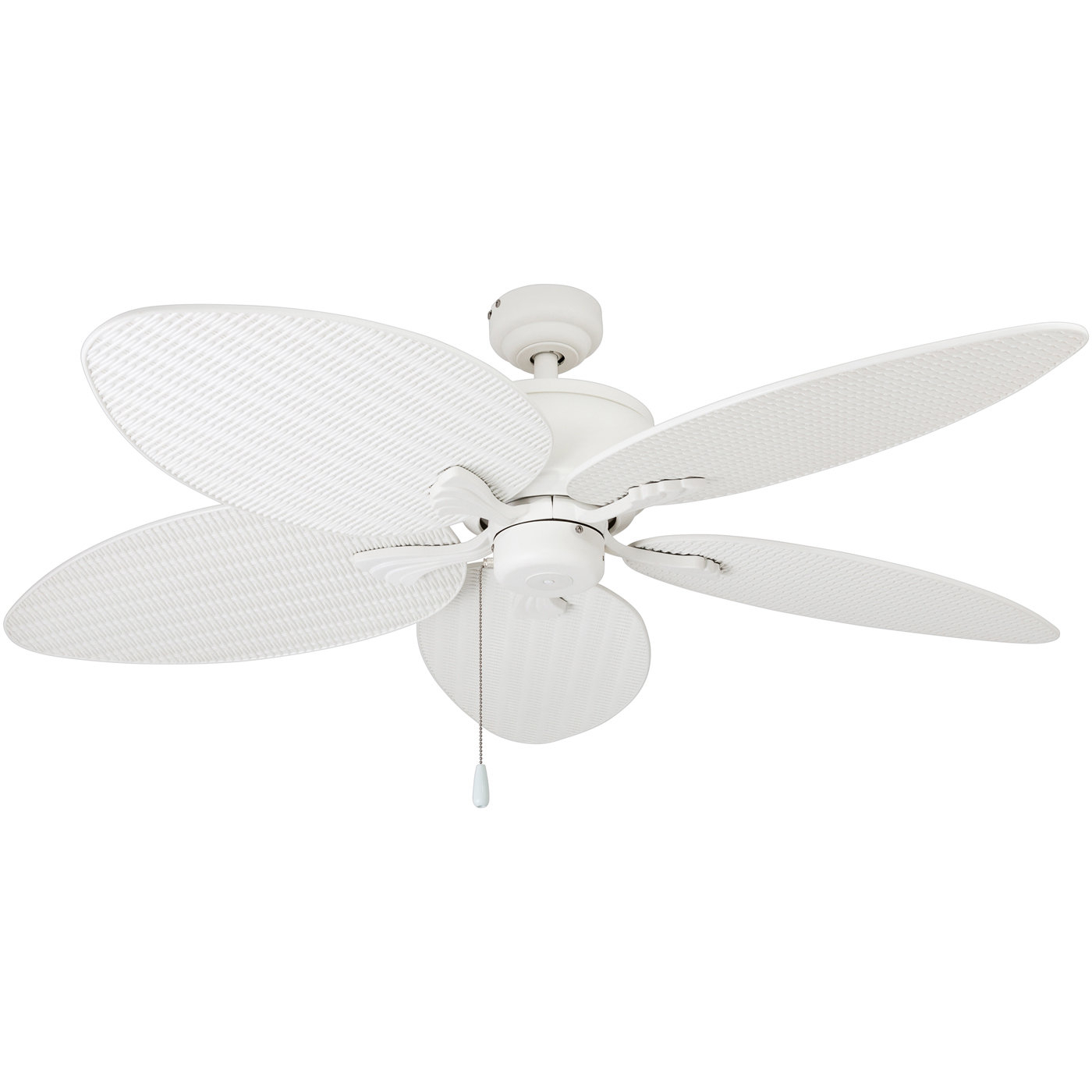 "52"" Alexander Outdoor 5 Blade Outdoor Led Ceiling Fan Pertaining To 2020 Kalea 5 Blade Outdoor Ceiling Fans (View 7 of 20)"
