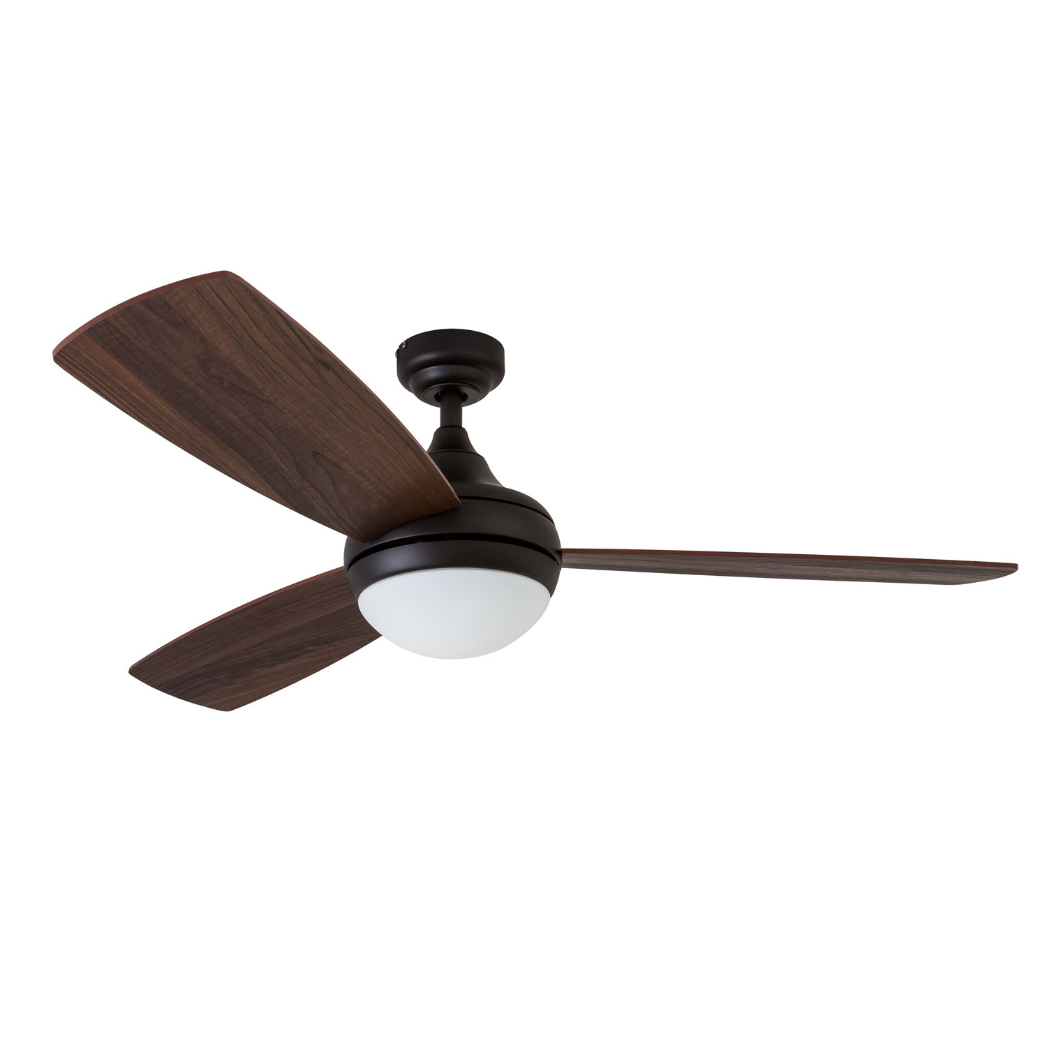 """52"""" Alyce 3 Blade Led Ceiling Fan With Remote Control Pertaining To Best And Newest Troxler 3 Blade Ceiling Fans (View 8 of 20)"""
