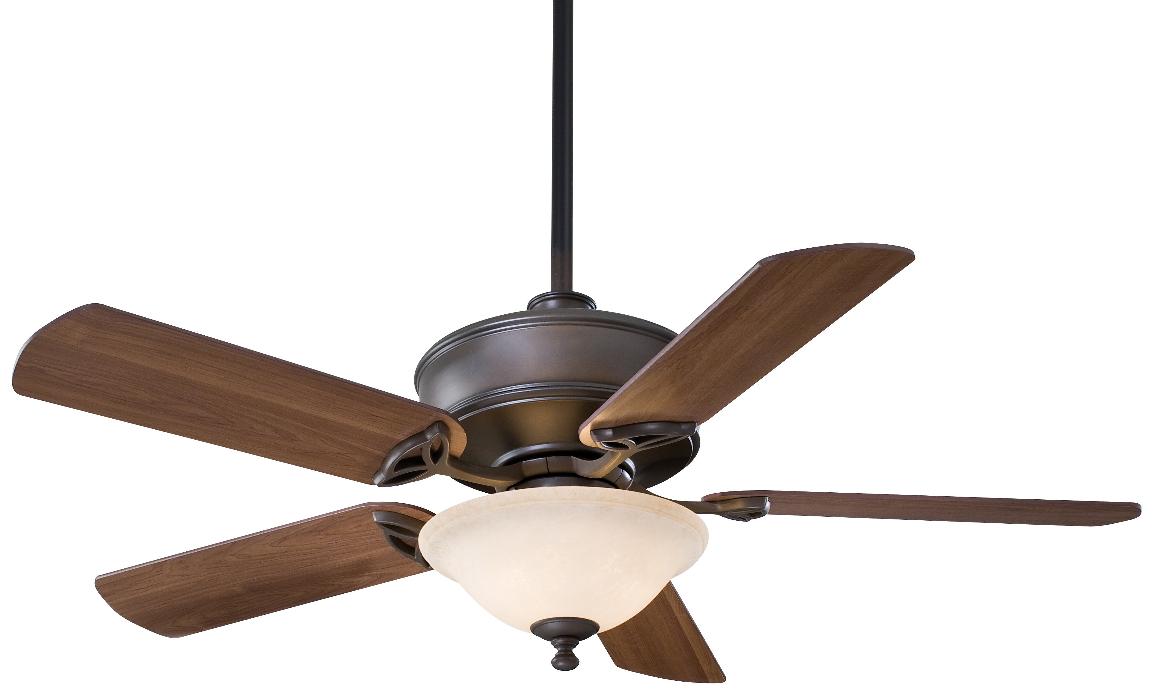 "52"" Bolo 5 Blade Ceiling Fan With Remote, Light Kit Included With Regard To Trendy Napoli 5 Blade Led Ceiling Fans (View 4 of 20)"
