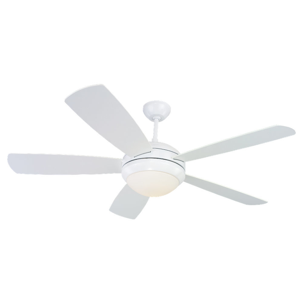 "52"" Calkins 5 Blade Ceiling Fan Pertaining To Most Up To Date Calkins 5 Blade Ceiling Fans (View 6 of 20)"