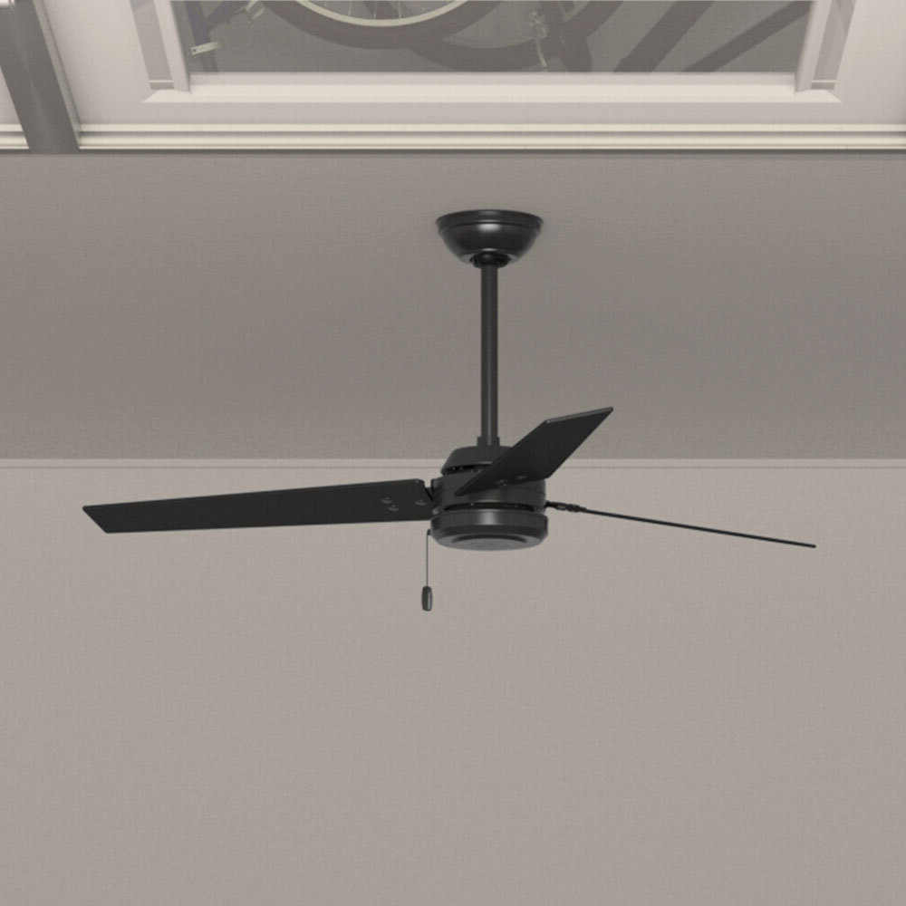 "52"" Cassius 3 Blade Outdoor Ceiling Fan In 2020 Cassius 3 Blade Outdoor Ceiling Fans (View 3 of 20)"