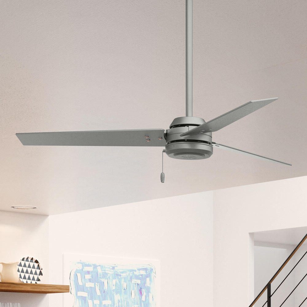 """52"""" Cassius 3 Blade Outdoor Ceiling Fan Within Most Popular Bernabe 3 Blade Ceiling Fans (View 6 of 20)"""