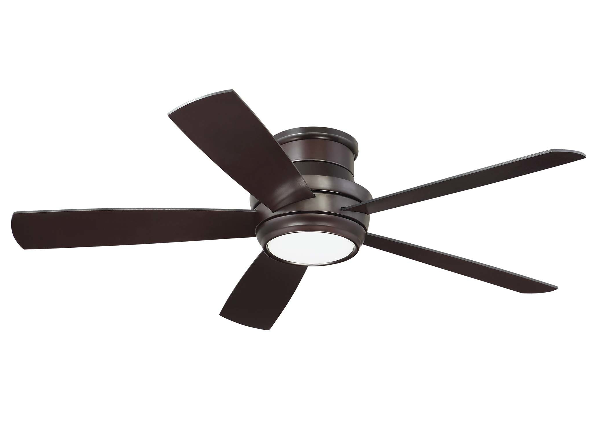 "52"" Cedarton 5 Blade Led Ceiling Fan With Remote, Light Kit Included In Widely Used Cedarton Hugger 5 Blade Led Ceiling Fans (View 2 of 20)"