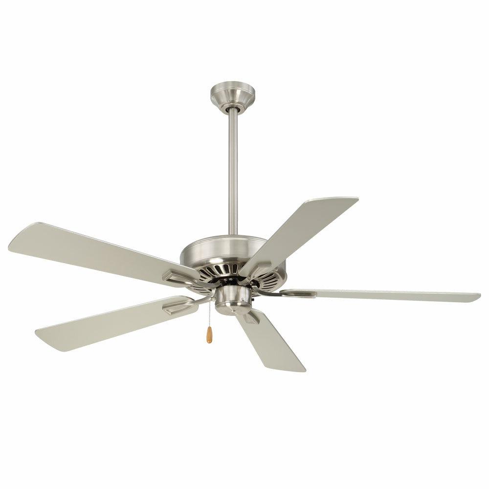 """52"""" Contractor 5 Blade Ceiling Fan Inside Trendy Contractor 5 Blade Ceiling Fans (View 2 of 20)"""