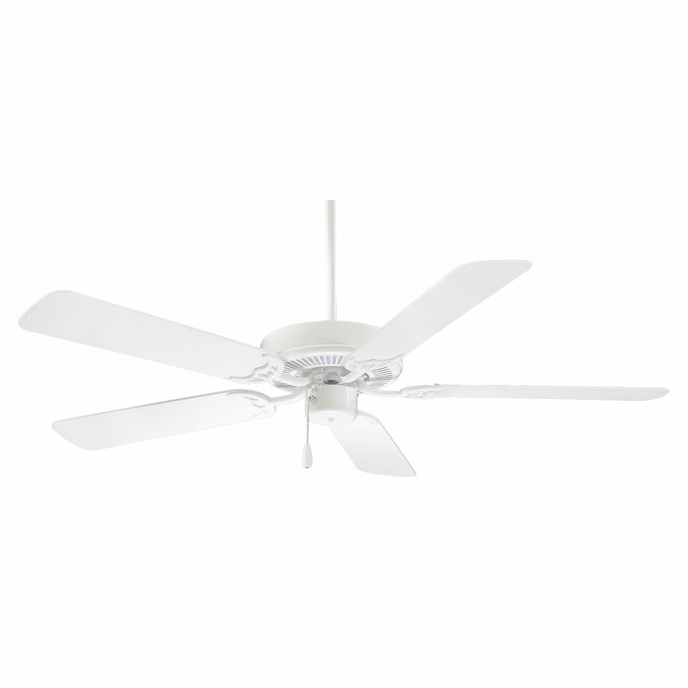 """52"""" Contractor 5 Blade Ceiling Fan With Regard To Well Known Creslow 5 Blade Ceiling Fans (View 2 of 20)"""