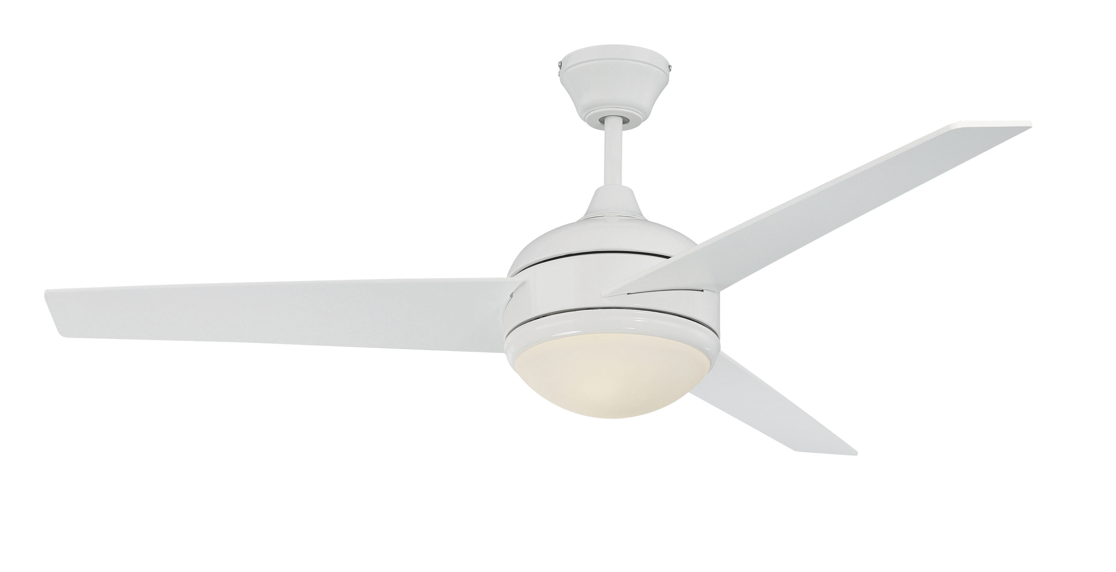 """52"""" Cromwell 3 Blade Ceiling Fan With Remote, Light Kit Included Throughout Well Liked Bernabe 3 Blade Ceiling Fans (View 7 of 20)"""