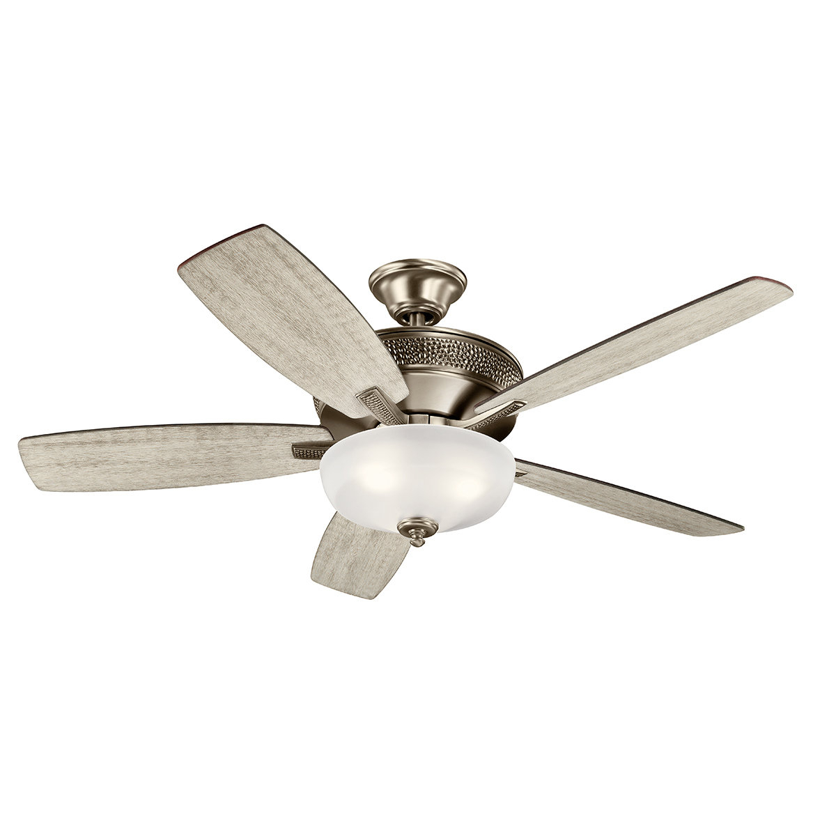 "52"" Dermott 5 Blade Led Ceiling Fan Inside Favorite Jules 6 Blade Ceiling Fans (Gallery 11 of 20)"