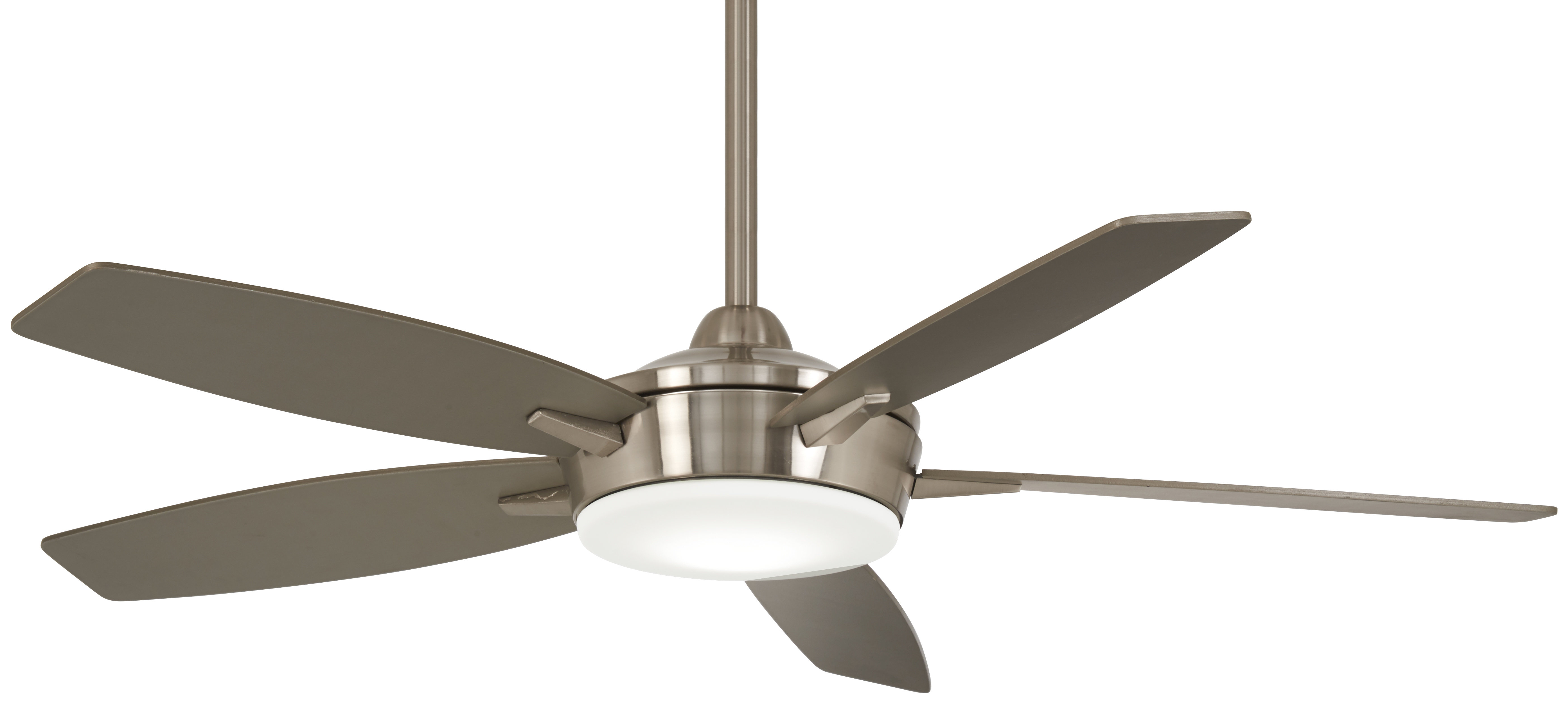 """52"""" Espace 5 Blade Led Ceiling Fan With Remote With Most Current Dyno 5 Blade Ceiling Fans (View 8 of 20)"""