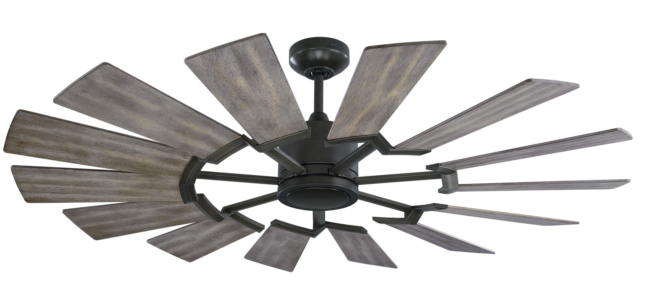 "52"" Fischer 14 Blade Led Ceiling Fan With Remote With 2020 Joanne Windmill 15 Blade Ceiling Fans (View 8 of 20)"