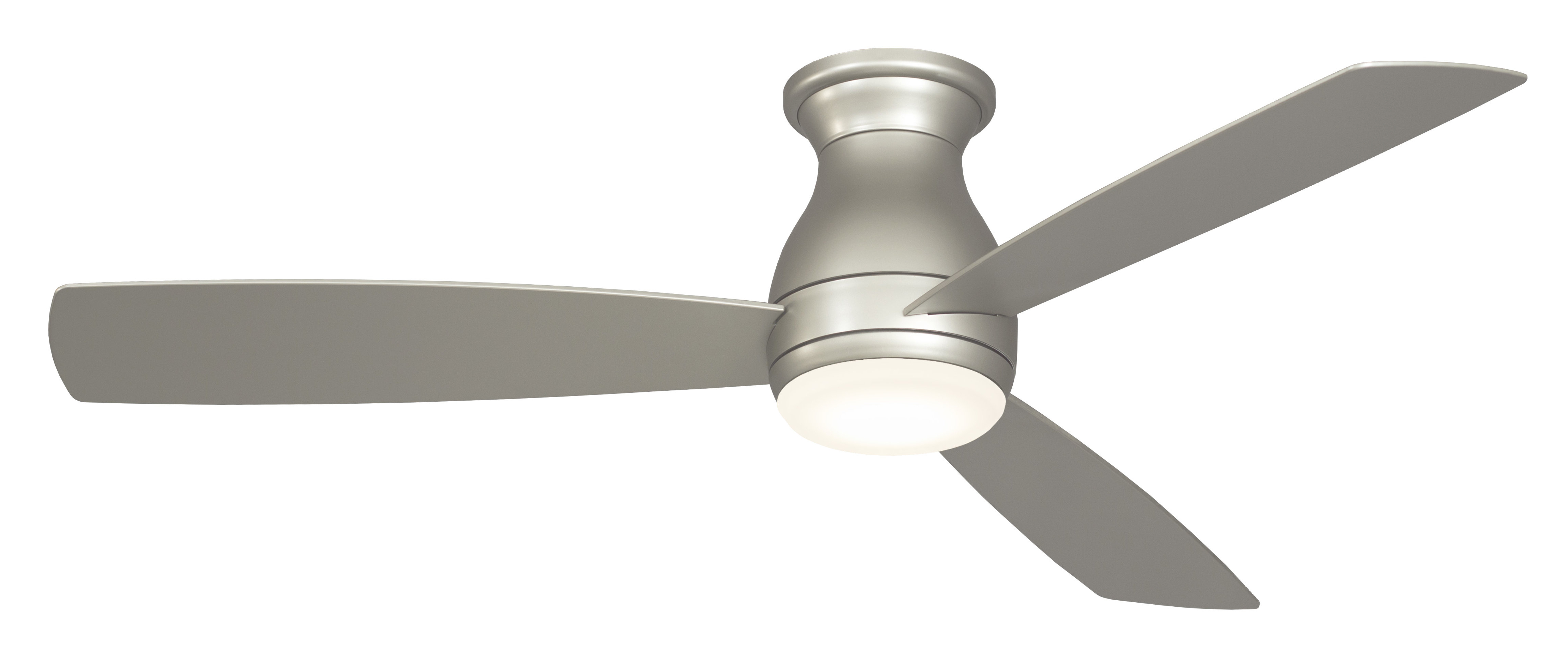 """52"""" Hugh 3 Blade Outdoor Led Ceiling Fan Throughout Most Recent Java 3 Blade Outdoor Led Ceiling Fans (View 2 of 20)"""