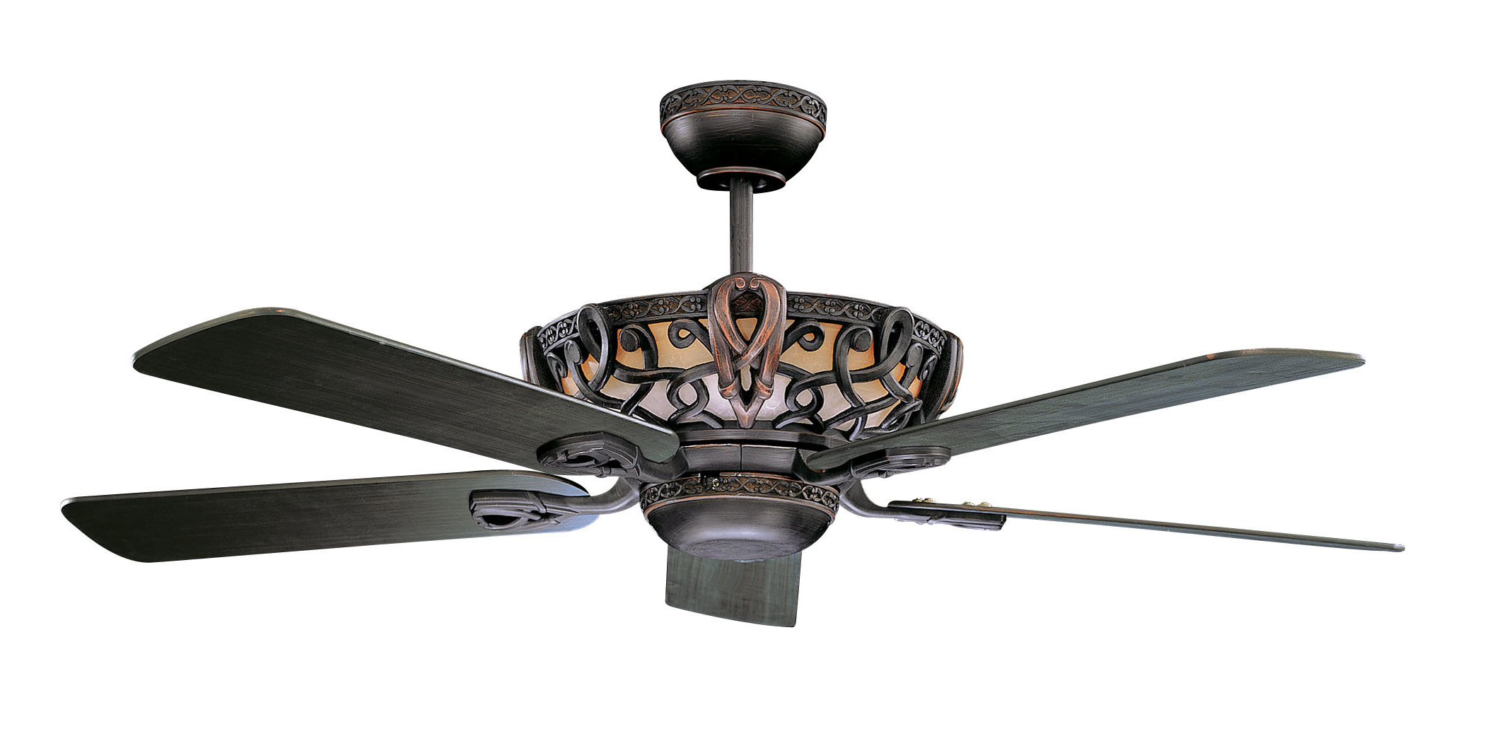 "52"" Lindsay 5 Blade Ceiling Fan Regarding Well Known Roberts 5 Blade Ceiling Fans (Gallery 10 of 20)"
