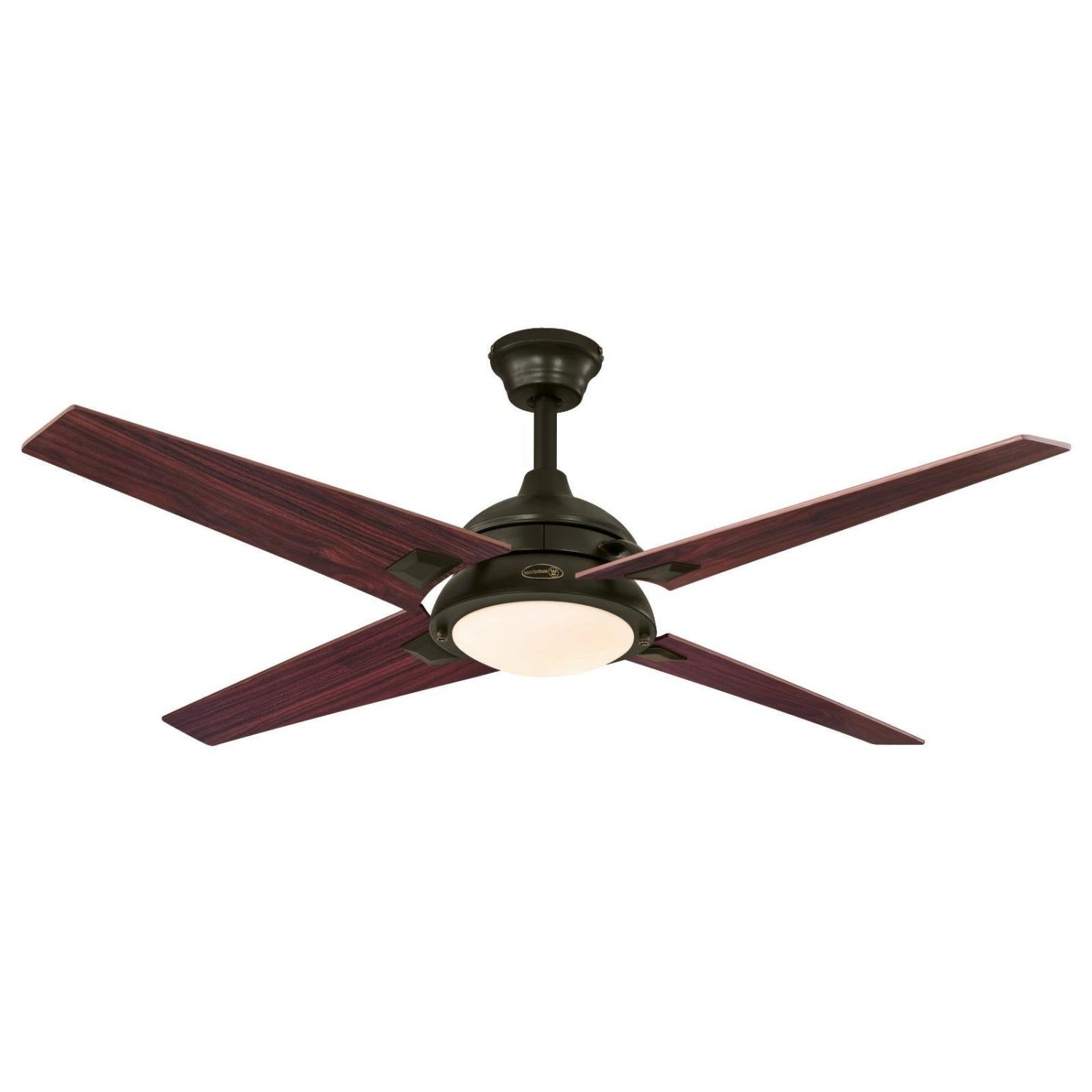 "52"" Lovetts 4 Blade Ceiling Fan Intended For Well Known Hemsworth 4 Blade Ceiling Fans (View 4 of 20)"