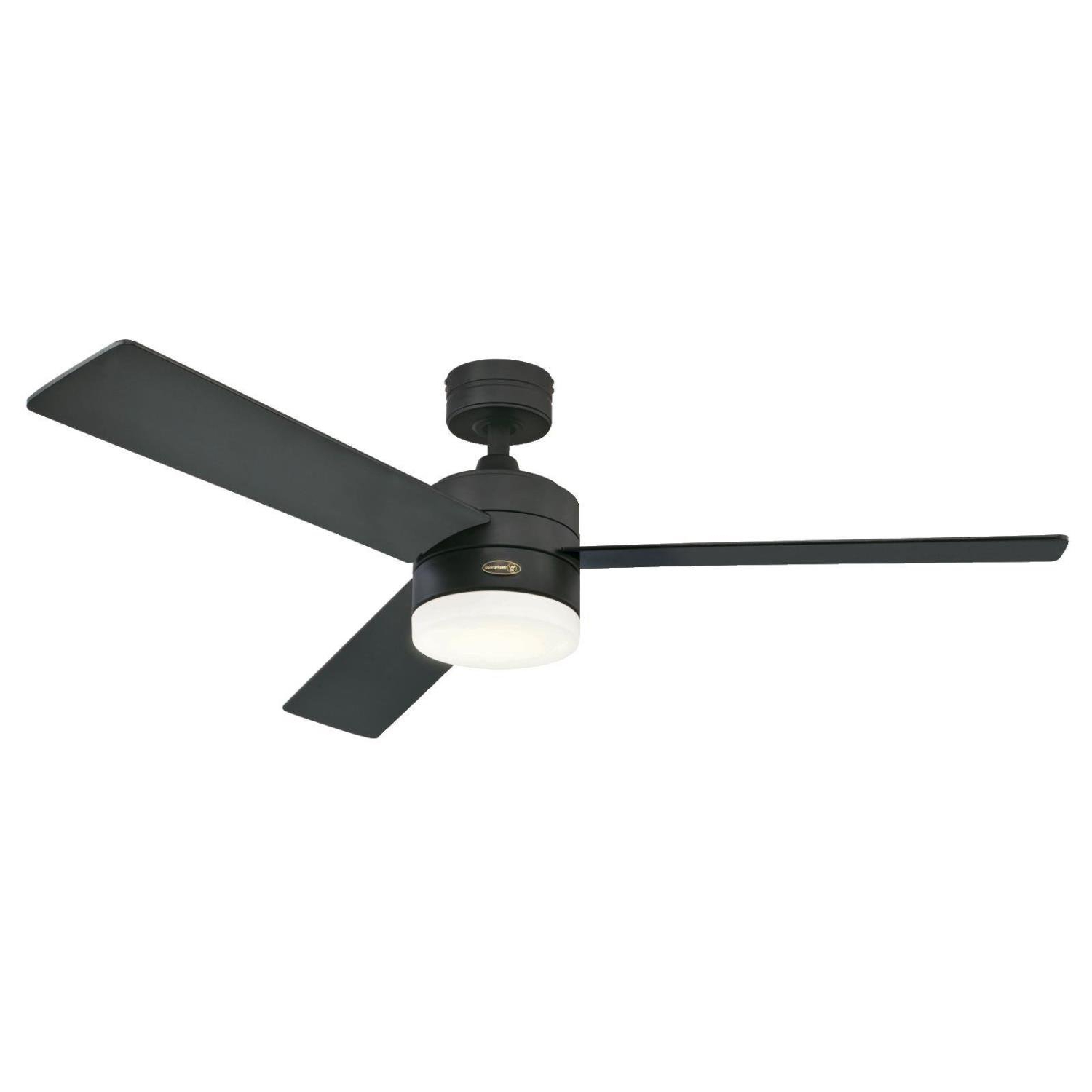"52"" Luray 3 Blade Ceiling Fan With Remote, Light Kit Included Within Widely Used Calkins 5 Blade Ceiling Fans (View 17 of 20)"