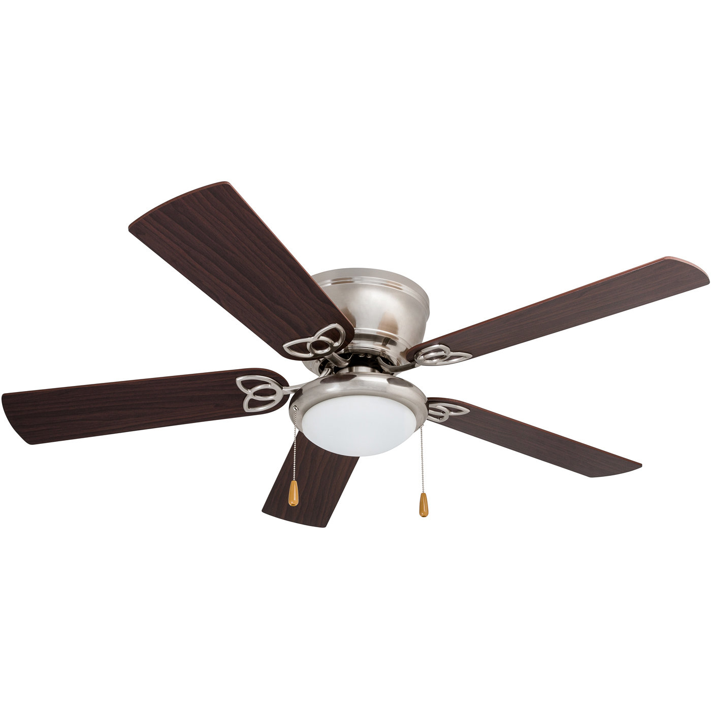 "52"" Mattias 5 Blade Ceiling Fan, Light Kit Included Within Current The Kensington 5 Blade Ceiling Fans (Gallery 11 of 20)"