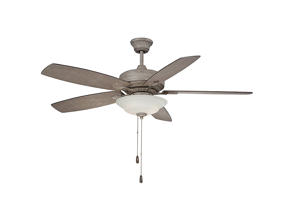"52"" Mcginley 5 Blade Ceiling Fan With Popular Mccarthy 5 Blade Ceiling Fans (View 3 of 20)"