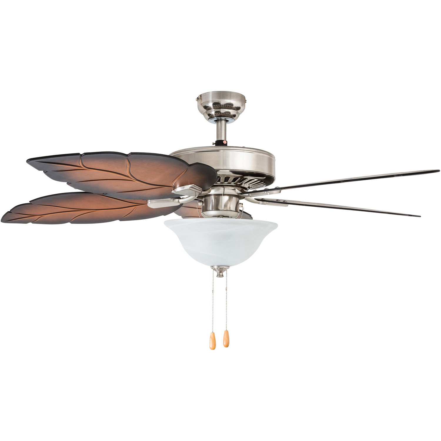 "52"" Monterry 5 Blade Led Ceiling Fan Intended For Favorite Saito 6 Blade Ceiling Fans (View 10 of 20)"