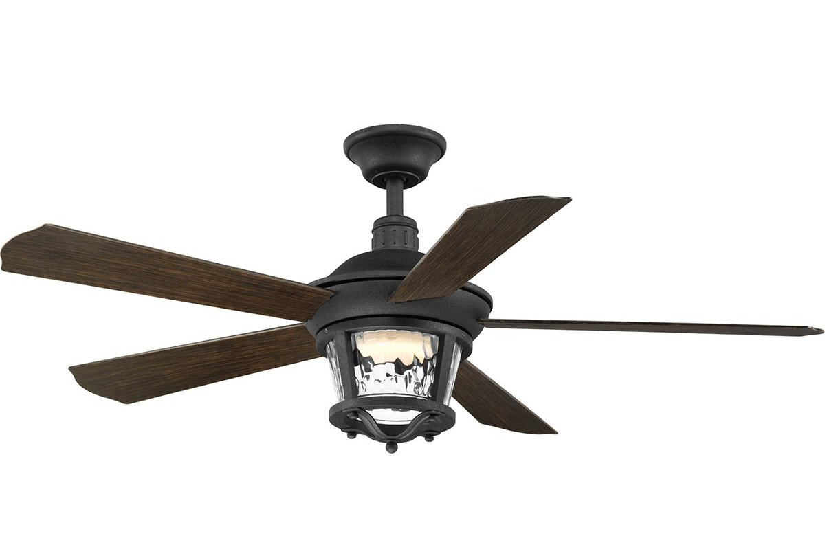 "52"" Mueller 5 Blade Outdoor Ceiling Fan With Favorite Quebec 5 Blade Ceiling Fans (Gallery 10 of 20)"