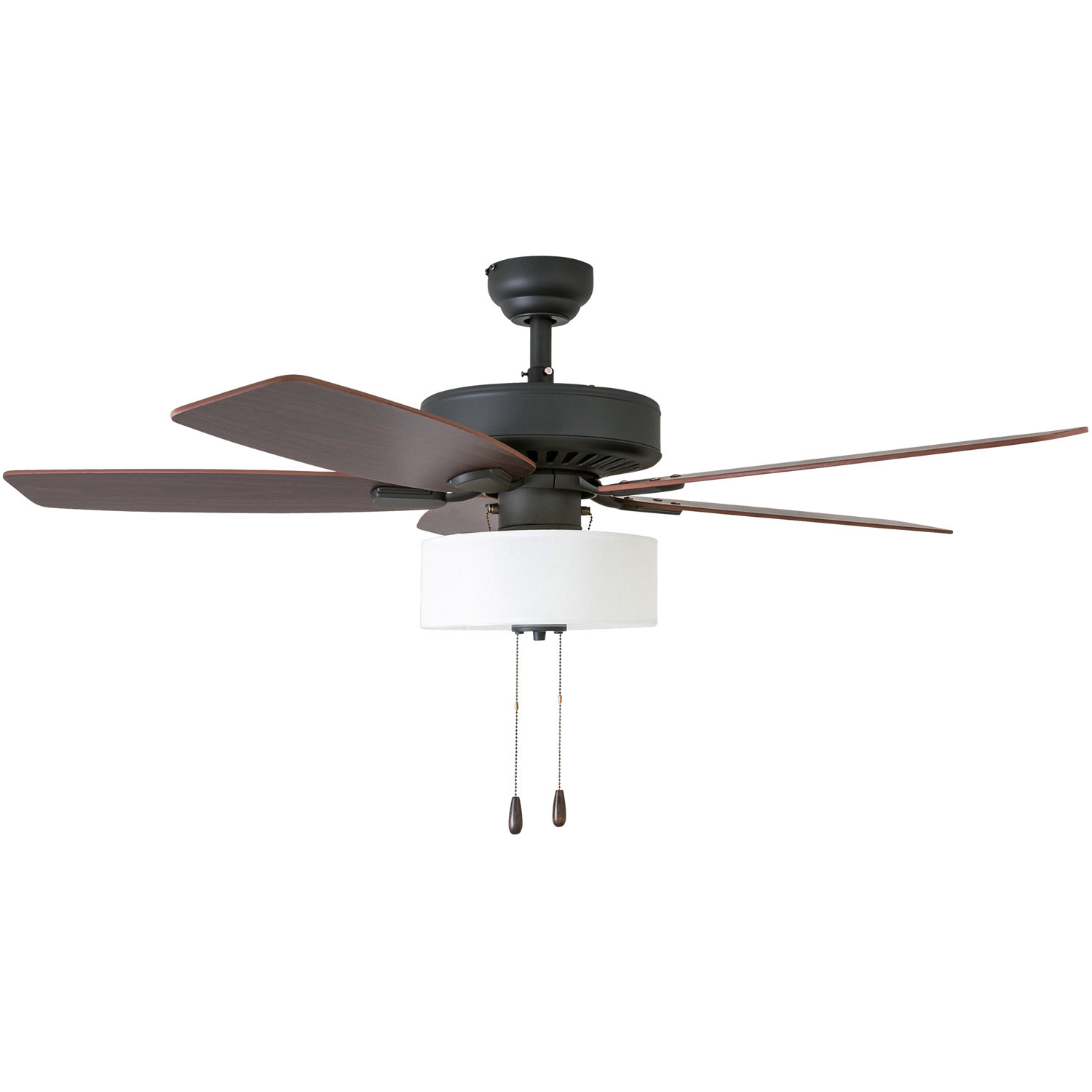 "52"" Sybilla 5 Blade Ceiling Fan, Light Kit Included In 2020 Caged Crystal 5 Blade Ceiling Fans (View 18 of 20)"