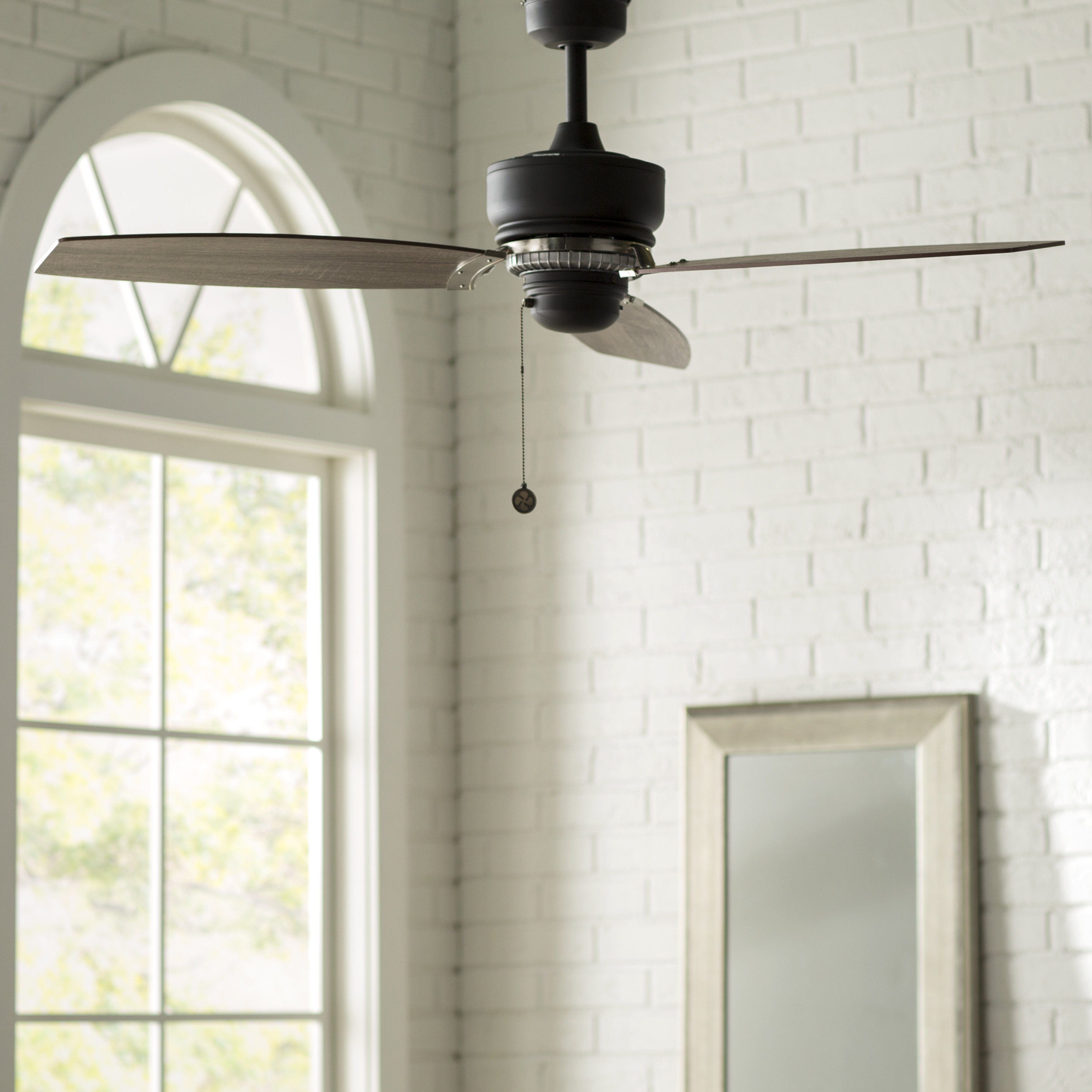 """54"""" Brittani 3 Blade Ceiling Fan Throughout Most Recently Released Sherwood 3 Blade Ceiling Fans (View 4 of 20)"""