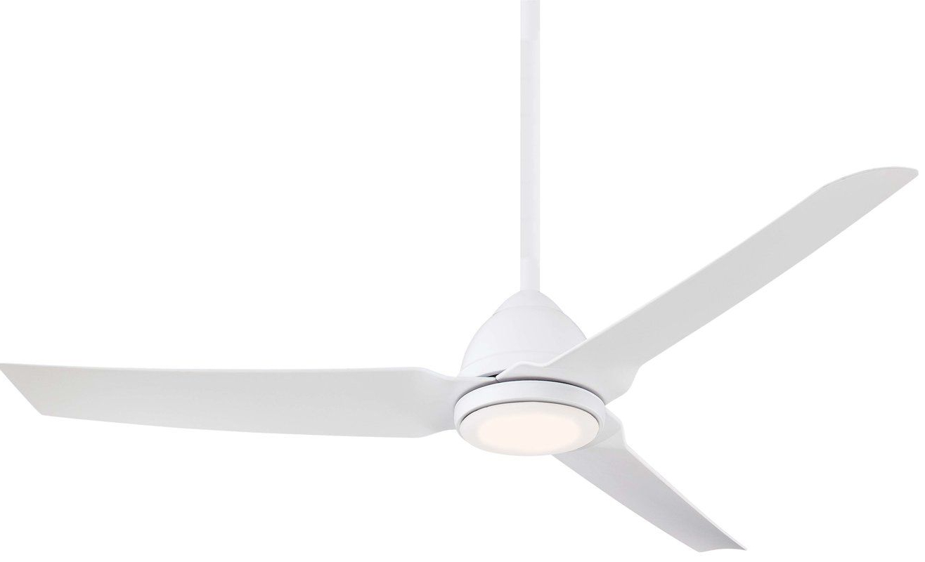 """54"""" Java 3 Blade Outdoor Led Ceiling Fan With Remote For Current Java 3 Blade Outdoor Led Ceiling Fans (View 3 of 20)"""