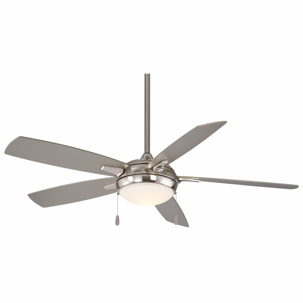 """54"""" Lun Aire Led 5 Blade Ceiling Fan With Well Known Dyno 5 Blade Ceiling Fans (View 4 of 20)"""