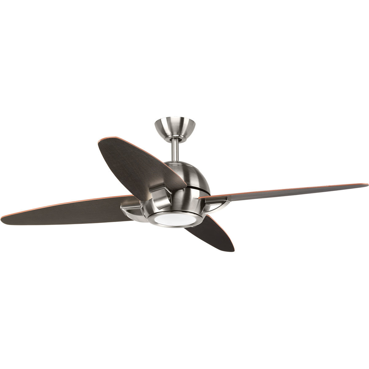 "54"" Ming 4 Blade Led Ceiling Fan With Remote With Widely Used Cranbrook 4 Blade Ceiling Fans (Gallery 13 of 20)"