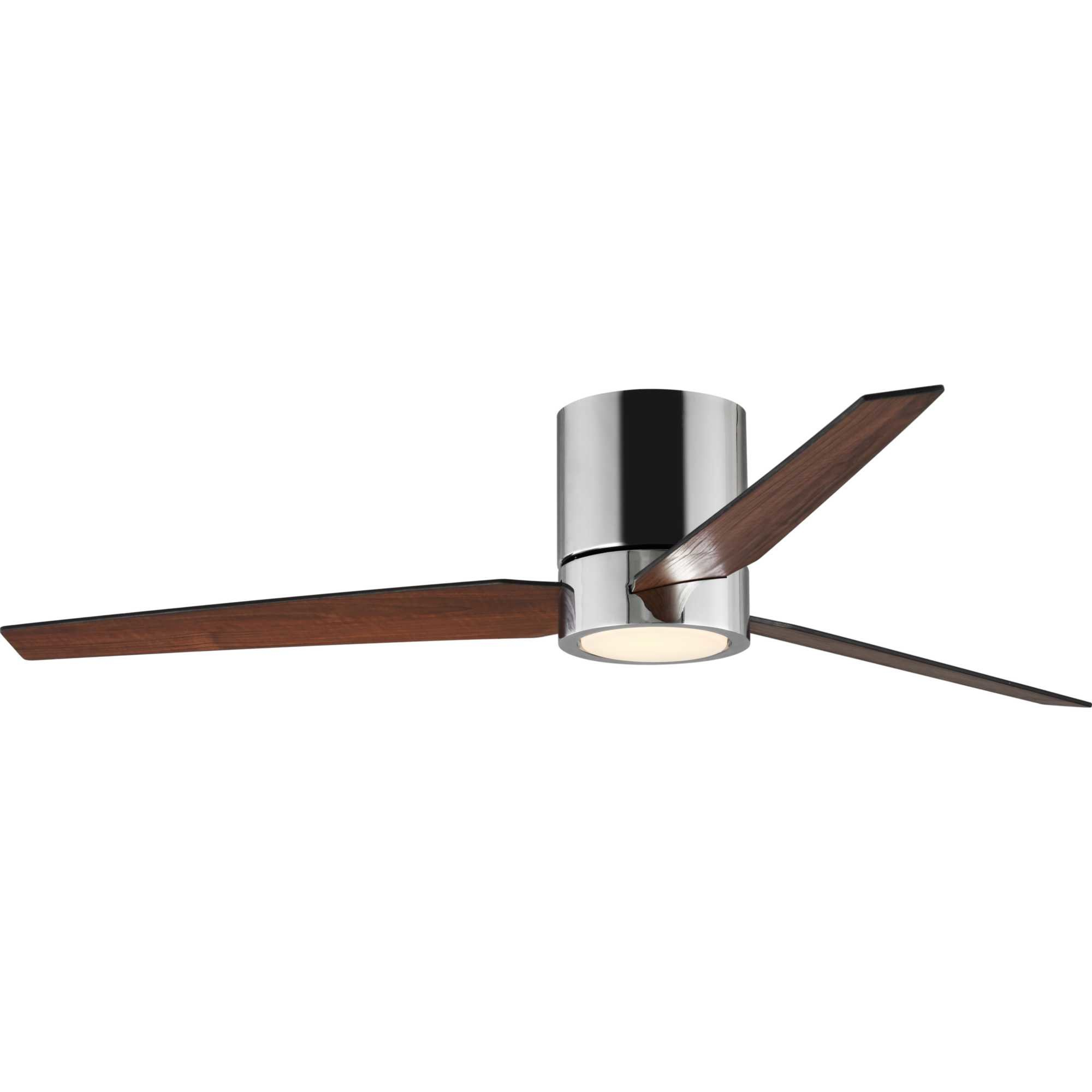 "56"" Tucker Hugger 3 Blade Led Ceiling Fan With Remote, Light Kit Included With Popular Troxler 3 Blade Ceiling Fans (Gallery 10 of 20)"