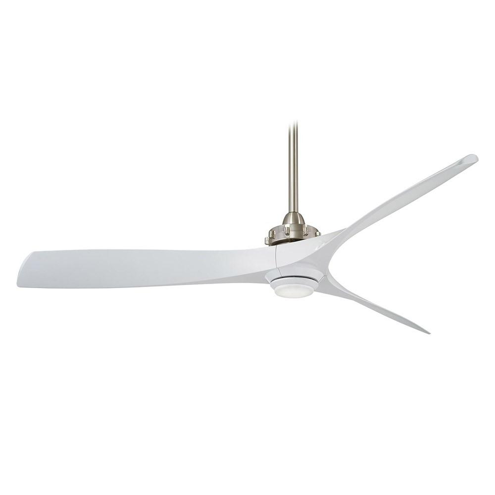 60 Aviation 3 Blade Ceiling Fans Throughout 2019 Minka Aire Aviation Ceiling Fan – 60 Inch Fan W/ Led Light (View 2 of 20)